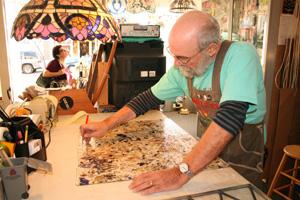 Glass artist brightens San Francisco windows
