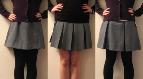 Students vote for new uniform skirts