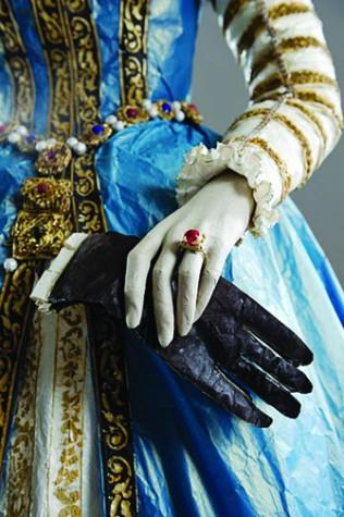 Paper dolls exhibit showcases pulp couture