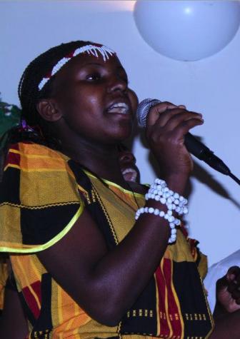 Children of Uganda perform their Tour of Light