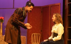 Students perform French comedy for fall play