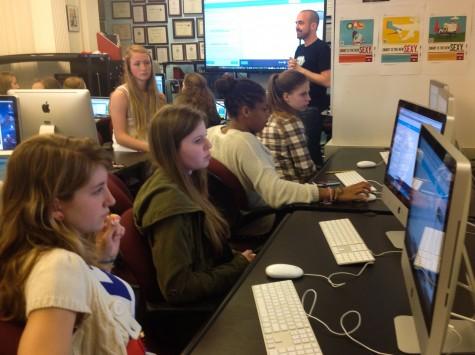Students re-create Flappy Bird in programming workshop