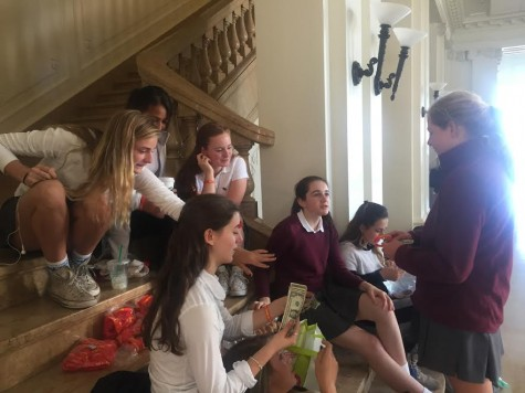 Freshman Class bracelet and bake sale raises money for girls in Uganda