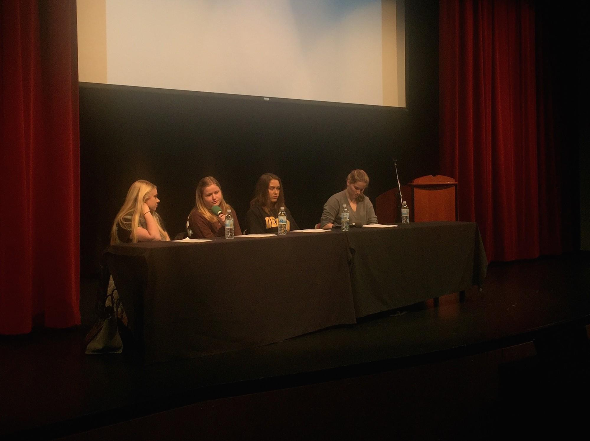 Alumnae answer questions from the Class of 2016 about the expectations of college and the steps to be taken for future success.