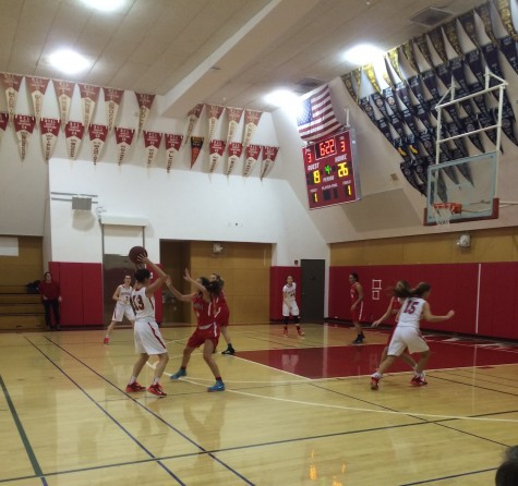 Basketball loses first league game