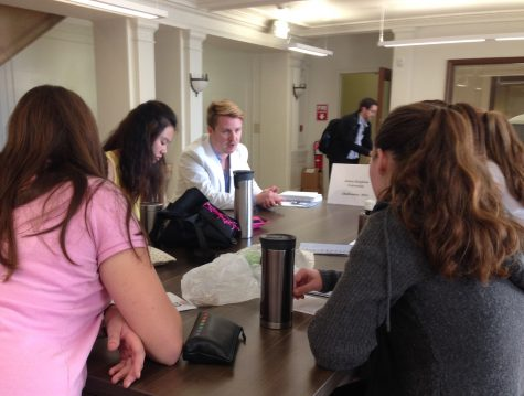 College representatives begin visits to campus