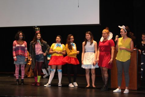 Halloween assembly provides outlet for faculty, student costume creativity