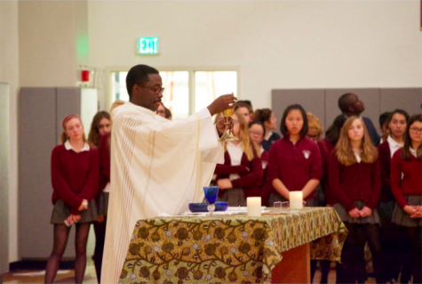 Mass celebrates All Saints' Day