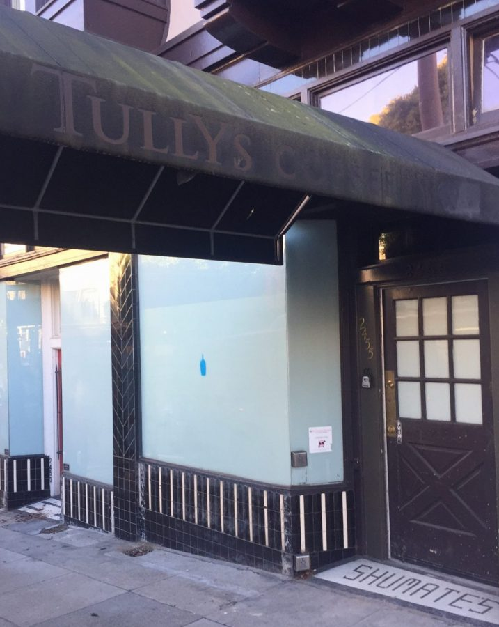 Previous+Tully%27s+Coffee%2C+Blue+Bottle+undergoes+renovation+before+opening+to+the+public%2C+including+students.+The+space+has+been+vacated+for+three+years.