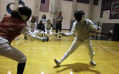Fencing team emerges on point