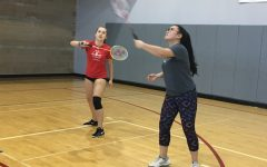 Badminton team prepares for season end