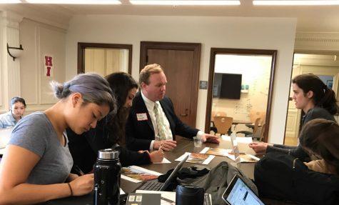 College representatives start visits