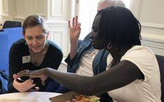 Ugandan author visits campus