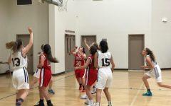 JV basketball team plays first preseason game
