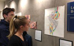 IB student art show begins