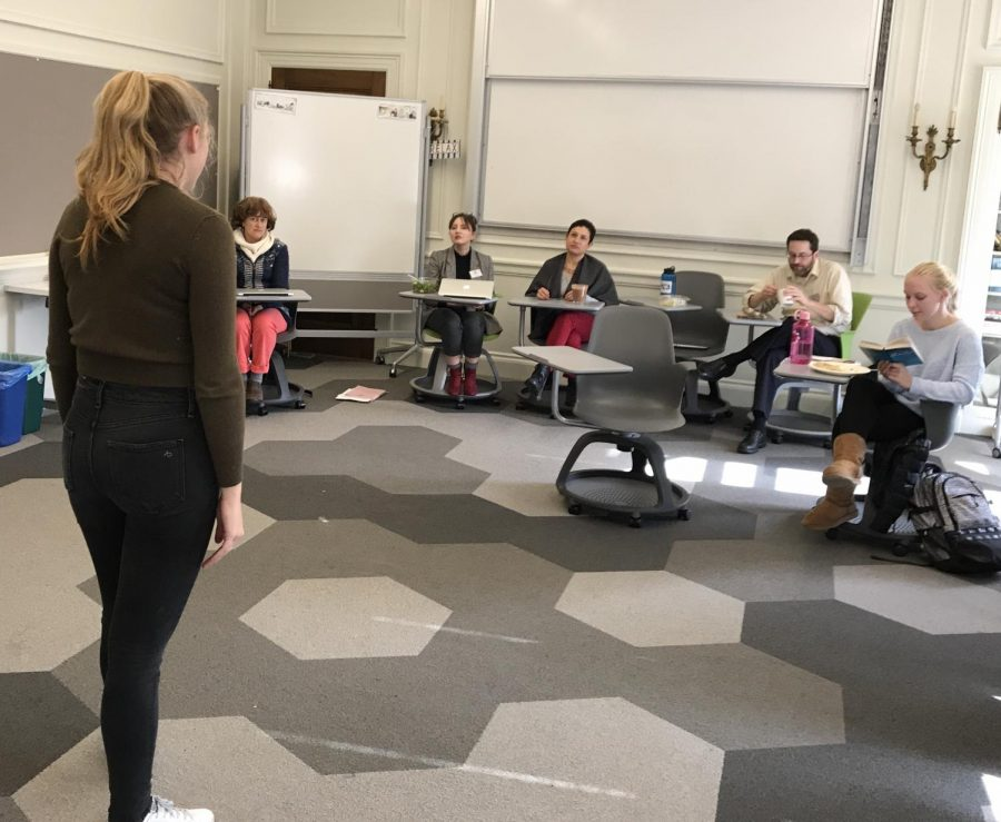 Senior+Olivia+Matthes+performs+her+monologue+from+%22Hamlet%22+by+playwright+William+Shakespeare.+Matthes%27+17+lines+are+said+by+Hamlet+in+Act+3%2C+Scene+4.
