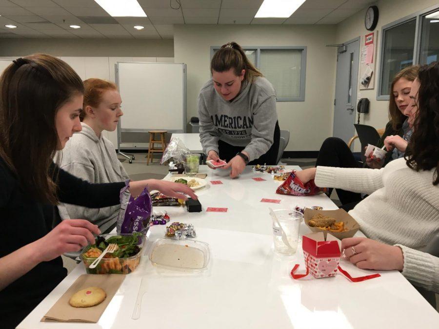 Card club provides break during school day