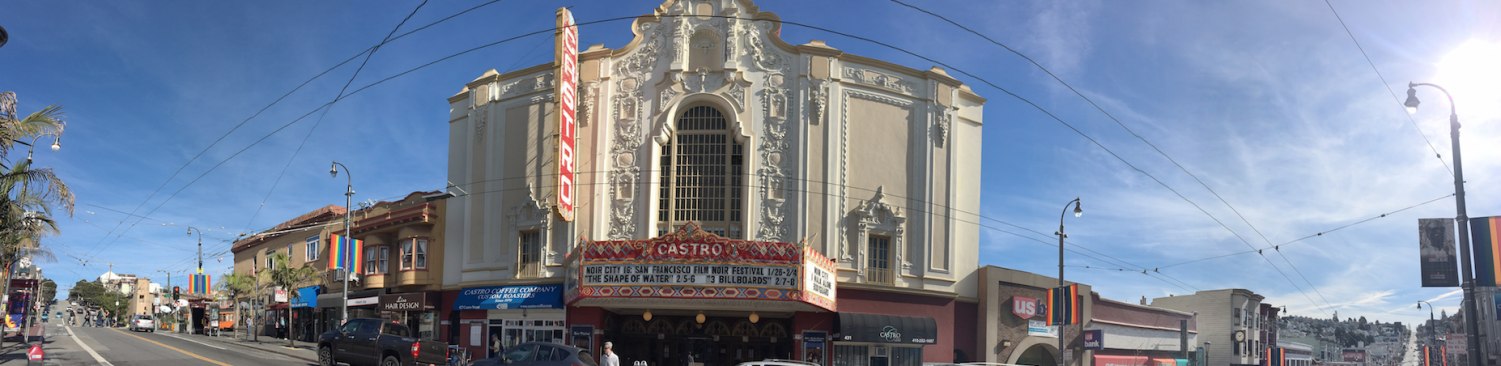 The Castro Theatre offers a range of cinematic showings from movies to musical sing-alongs. The theater is located on Castro Street between 17th and 18th streets.