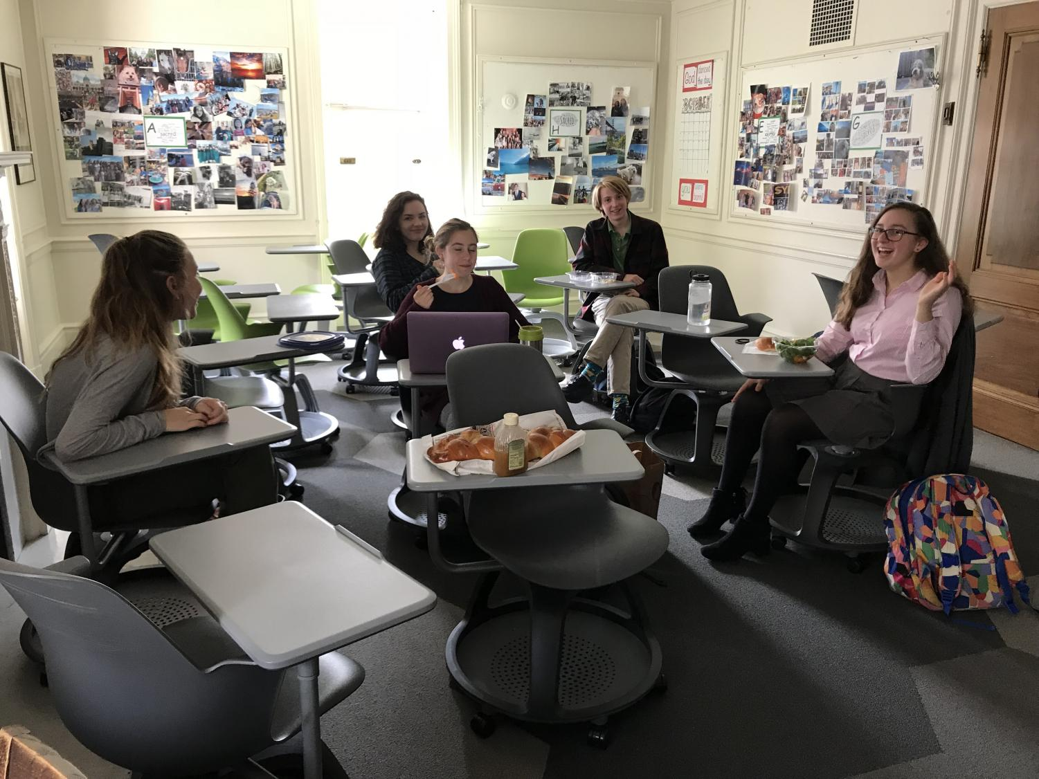 The Interfaith Clubs discusses the wide range of faiths in the world. The club meets every other Tuesdays in room 203 and encourages students of all faiths to come and participate.