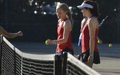 Varsity tennis celebrates senior night