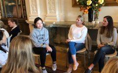 Students and parents discuss community goals