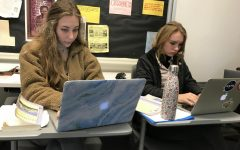 Sophomore English class begins first graded essay of the year