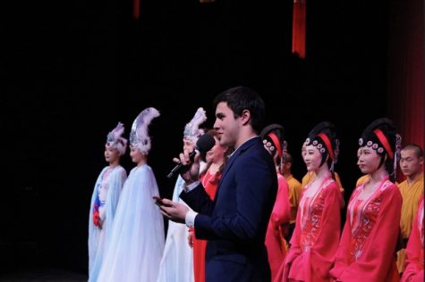 Chinese Consulate dance group performs for the Lunar New Year