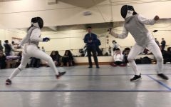 Fencing team practices for upcoming competitions