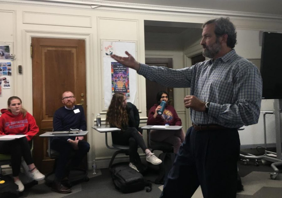 Theory of Knowledge classes discuss Holocaust book with author