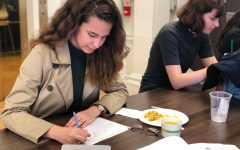 Students engage in coloring, relaxation activities in advisory