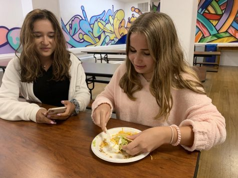 Students adjust to modified lunch schedule