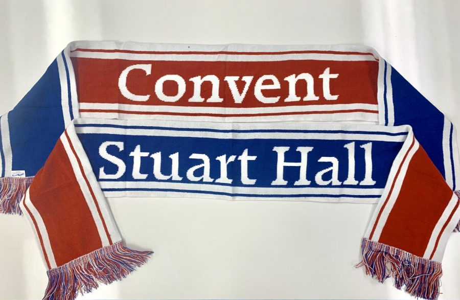 Fans+who+attend+the+varsity+soccer+game+on+Thursday%2C+Jan.+16+will+receive+free+rally+scarves.+The+scarves+read+%22Convent%22+on+one+side+and+%22Stuart+Hall%22+on+the+other.+