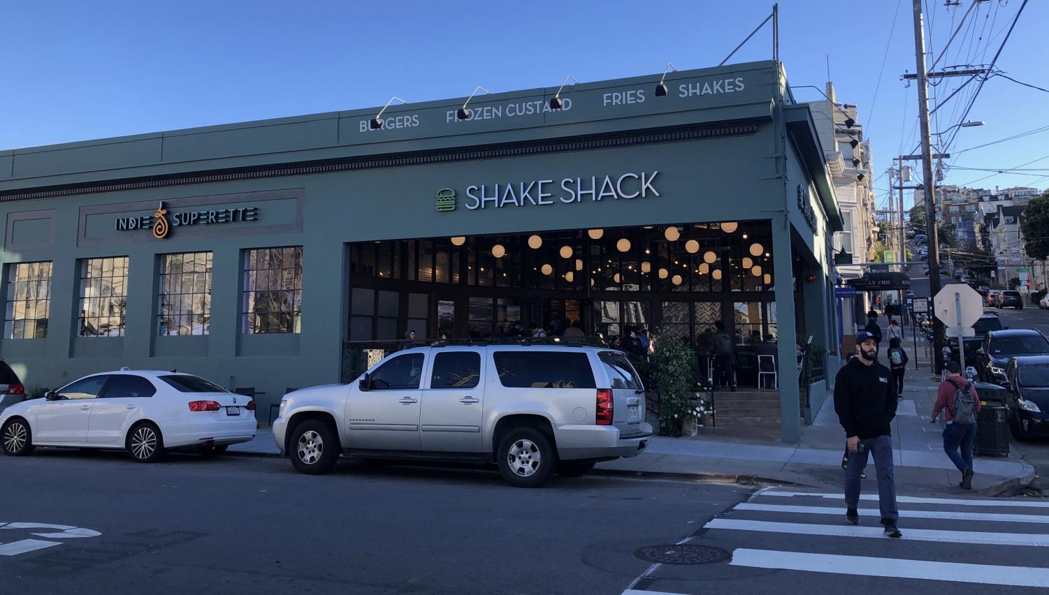 Shake Shack's new Cow Hollow location is now open for business as of Feb. 3. Shake Shack has over 280 locations worldwide and this is the fourth location to open in San Francisco.