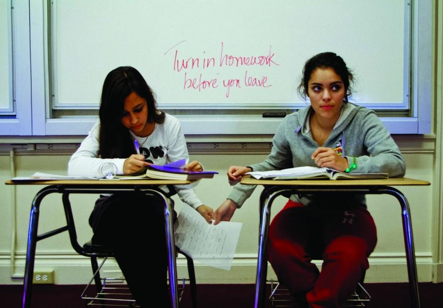 A recent Broadview survey of more than half the student body reports copying homework is common. The faculty Academic Council is reviewing the issue.