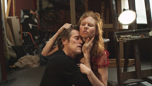 "Willem Dafoe and Shanyn Leigh star together as a New York couple from Abel Ferrara's ""4:44 Last Day on Earth."" This film shows on opening night and is 90 minutes long. IFC Films 