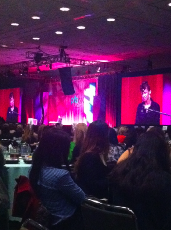 Juniors attend the Young Women's Summit