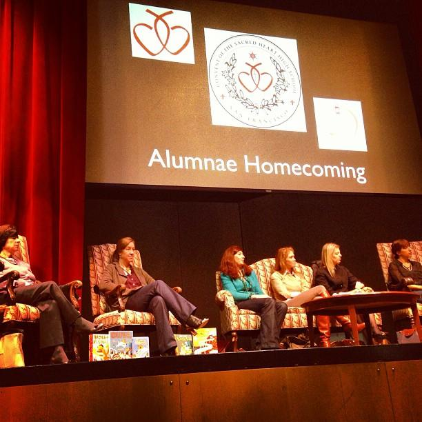 Alumnae shared their life after Convent in the inaugural