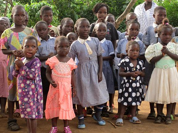 Although girls in developing countries may attend some elementary school, fewer than 17 percent of girls in Uganda attend high school due to their families' inability to pay school fees or due to gender stereotyping.