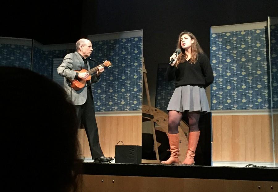 Kristin Weinman sings The Beatles' song