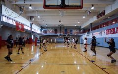 Volleyball and cross-country teams get a head start on tryouts, training