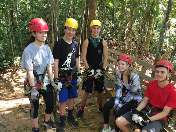 Sophomores in Costa Rica: Zipping through the world