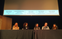 Alumnae participate in college panel