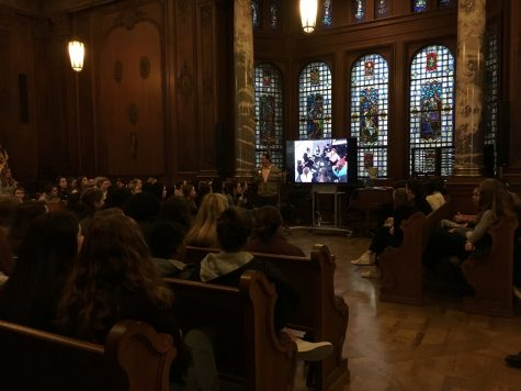 Chapel makes space for reflection of last week's events
