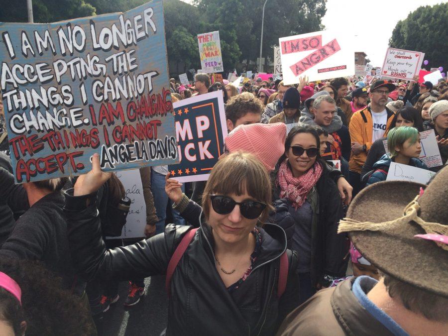Oakland Women's March: January 21, 2017