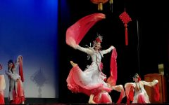 Chinese New Year assembly hosts dance and singing group