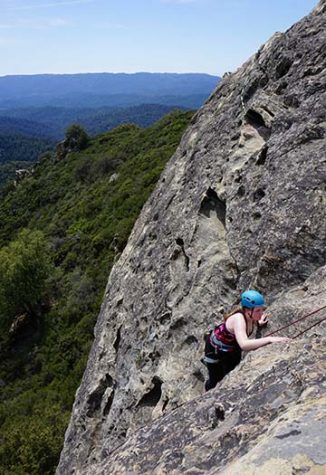New climbing club is anything but rocky
