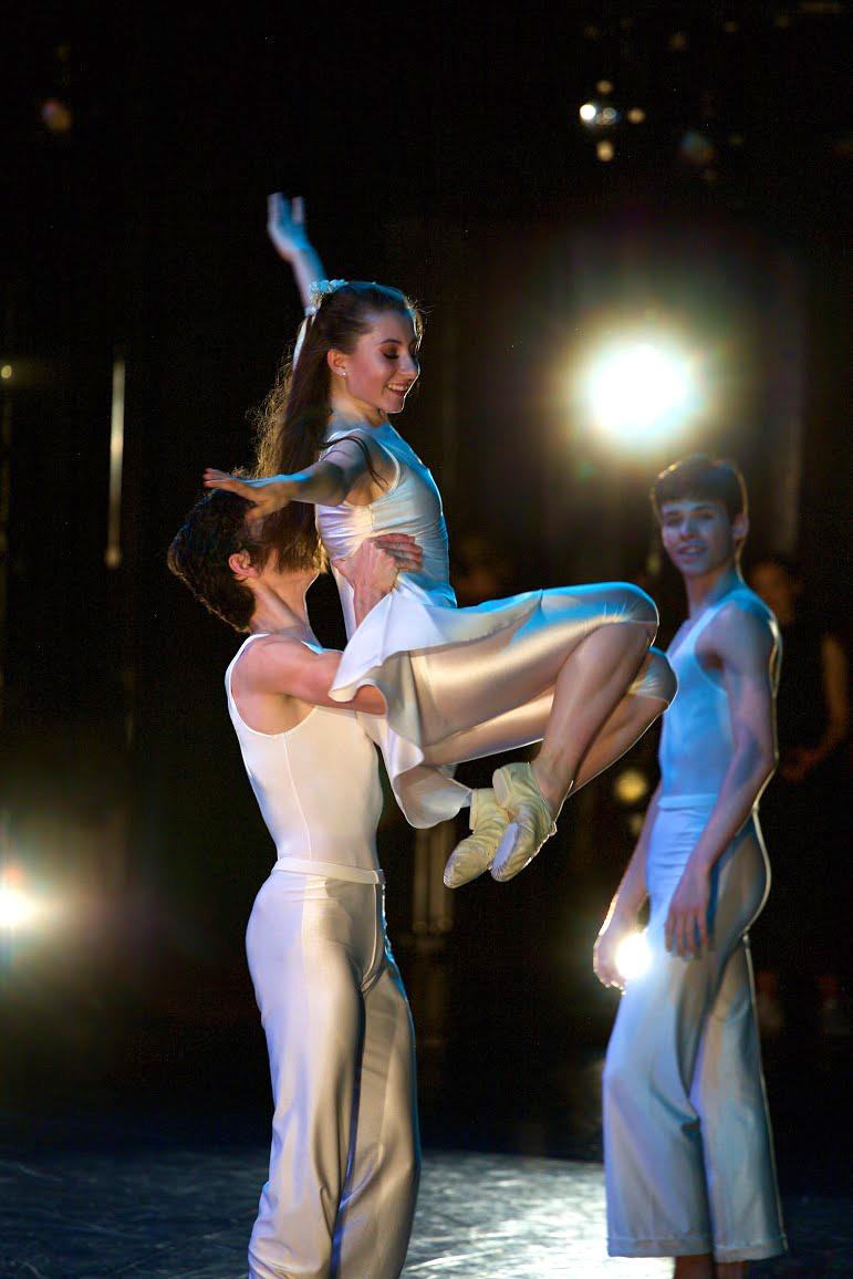 Senior Charlotte Ogden-Moore dances in Helgi Tomasson's