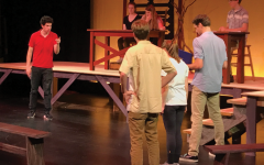 The Crucible cast performs Act 2, Scene 2 during a rehearsal. The play opens Nov. 9.