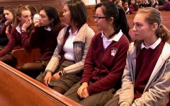 High school celebrates All Saints' Day with community Mass