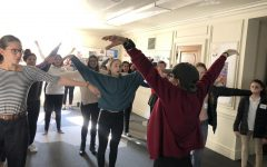 Sophomore Class learns QiGong